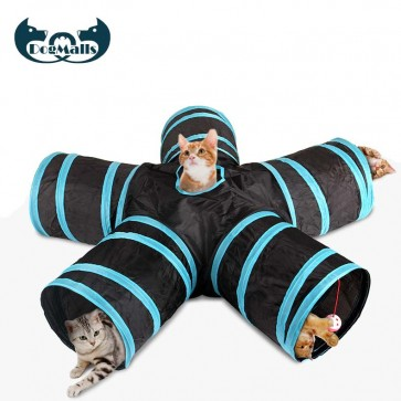 Collapsible Cat Play Tunnel, cat tunnels for outdoors, cat tunnels for indoor cats