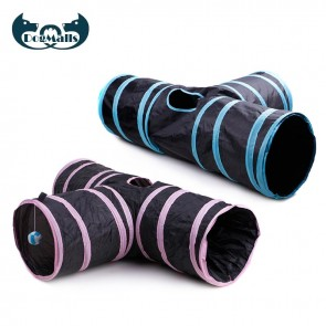outdoor cat tunnels and tubes, cat tunnels for indoor cats, tunnels for cats with toy ball