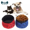 Oxford Fabric Pet Travel Water Food Bowl